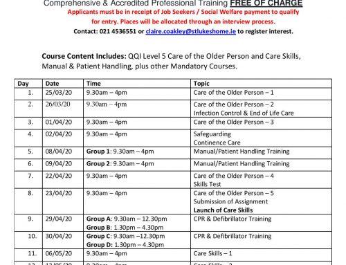Healthcare Professional Carers Training