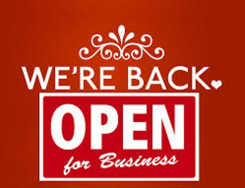We are Open..