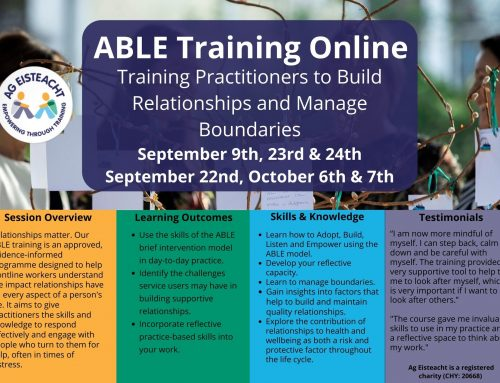 ABLE Brief Intervention Training Online